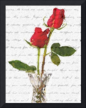 roses with words
