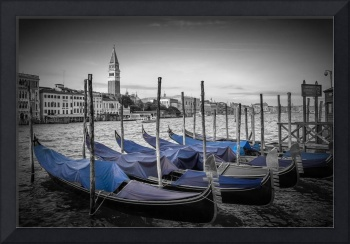VENICE Grand Canal And Goldolas
