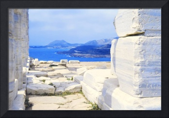 From the Temple of Poseidon, Sounion, Greece 1960