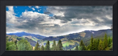 Panoramic landscape