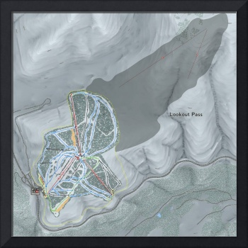 Lookout Pass Resort Trail Map