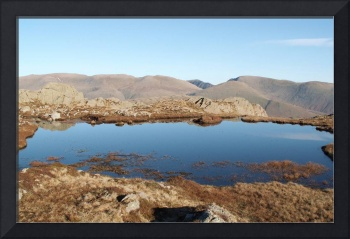 Tarn at the top of the world