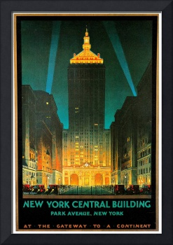 Vintage New York Central Building 1930