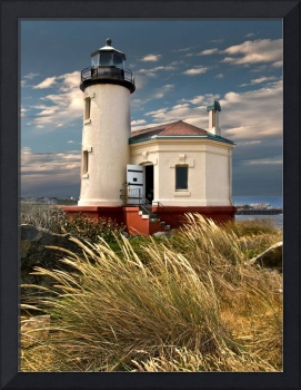 The Coquille River Lighthouse