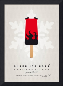 My SUPERHERO ICE POP - Hellboy