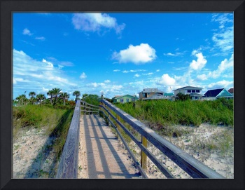 Sunrise Boardwalk Emerald Coast Florida C7