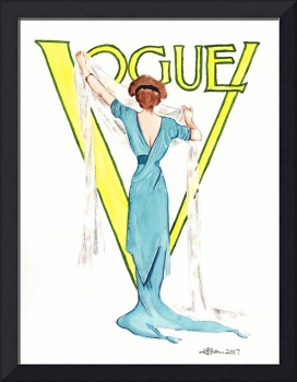 March 1911 Vogue magazine cover.
