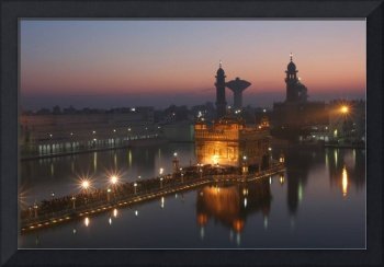 Golden Temple Sunrise