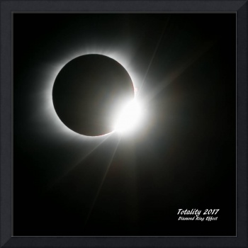 Totality 2017 Diamond Ring Effect