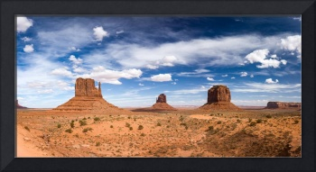 Monument Valley Daytime Panoramic Color