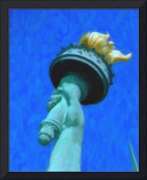 Torch of Statue of Liberty