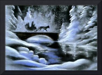 Snowy Sleigh Ride, Winter Dream