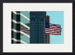 Old Glory Reflected by Jacque Alameddine