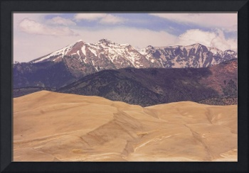 Sangre de Cristo Mountains and The Great Sand Dune
