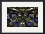 Space Shuttle Cockpit by Dave Wilson
