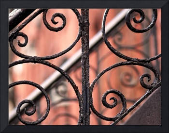 Chelsea Wrought Iron Abstract