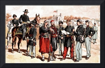 Civil War Uniforms Of The United States Troops