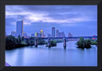 Downtown Austin in the Morning HDR