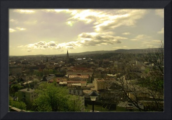 HDR View over Cluj