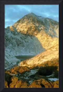 snowdon from miners track