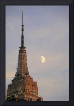 moon over new york