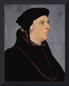 Hans Holbein the Younger~Sir William Butts, Physic