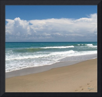 Treasure Coast Beach Seascape C4 Triptych M