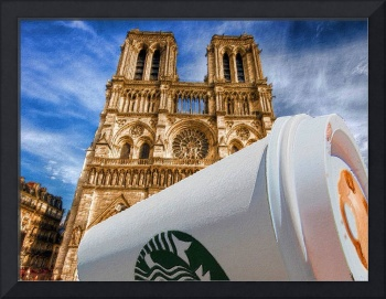 Discarded Coffee Cup Trash Oh Yeah - And Notre Dam