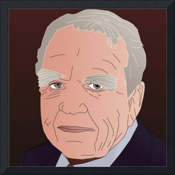 Andy Rooney Tribute Portrait