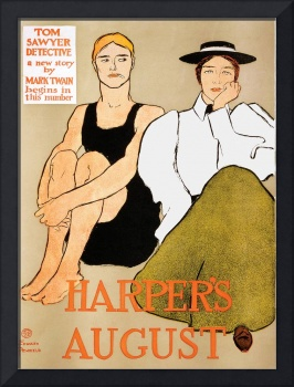 Harper's August by Edward Penfield