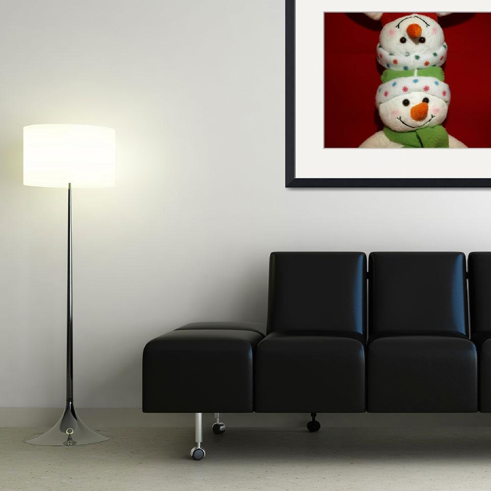 """""""Snowman waiting for Christmas 12&quot  (2009) by Albertphoto"""