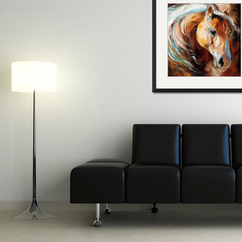 """Magic Moments Equine [SIGNED]&quot  (2013) by MBaldwinFineArt2006"