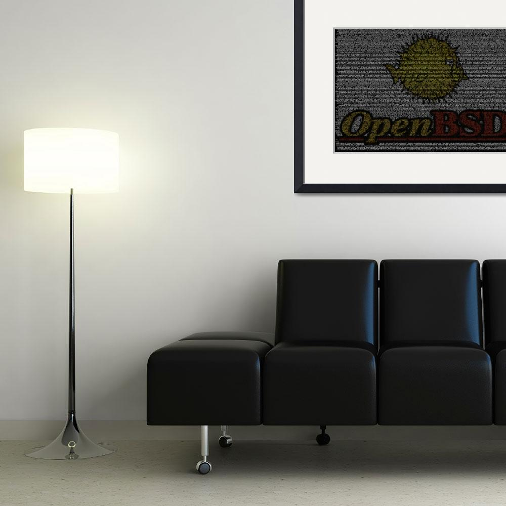 """""""OpenBSD Source Poster""""  (2010) by 0xfe"""