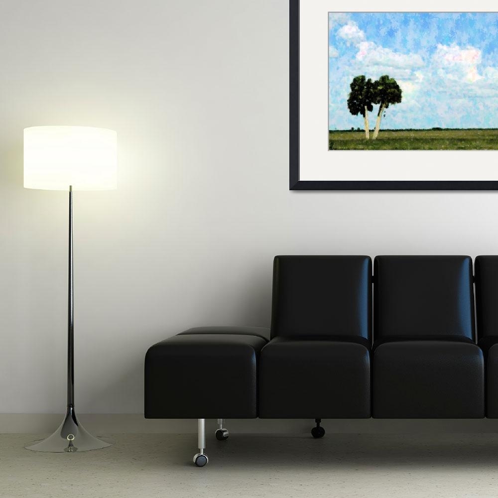 """""""A Country View&quot  (2009) by Debrene"""