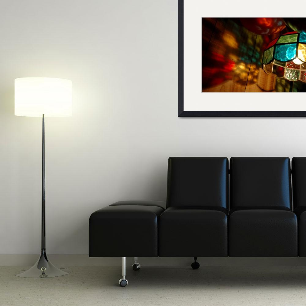 """""""colored lamp&quot  by jennifermckay"""