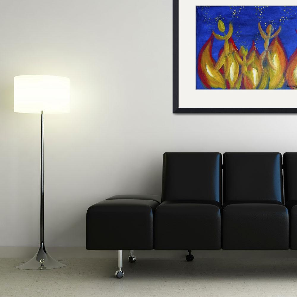 """Fire Fall&quot  (2008) by oilnwine"
