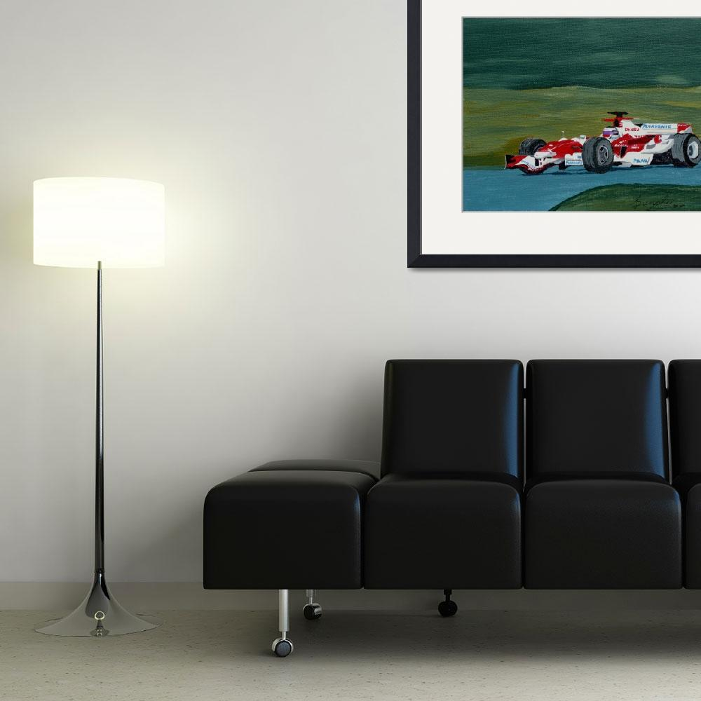 """F1 Toyota&quot  (2012) by anthonydunphy"
