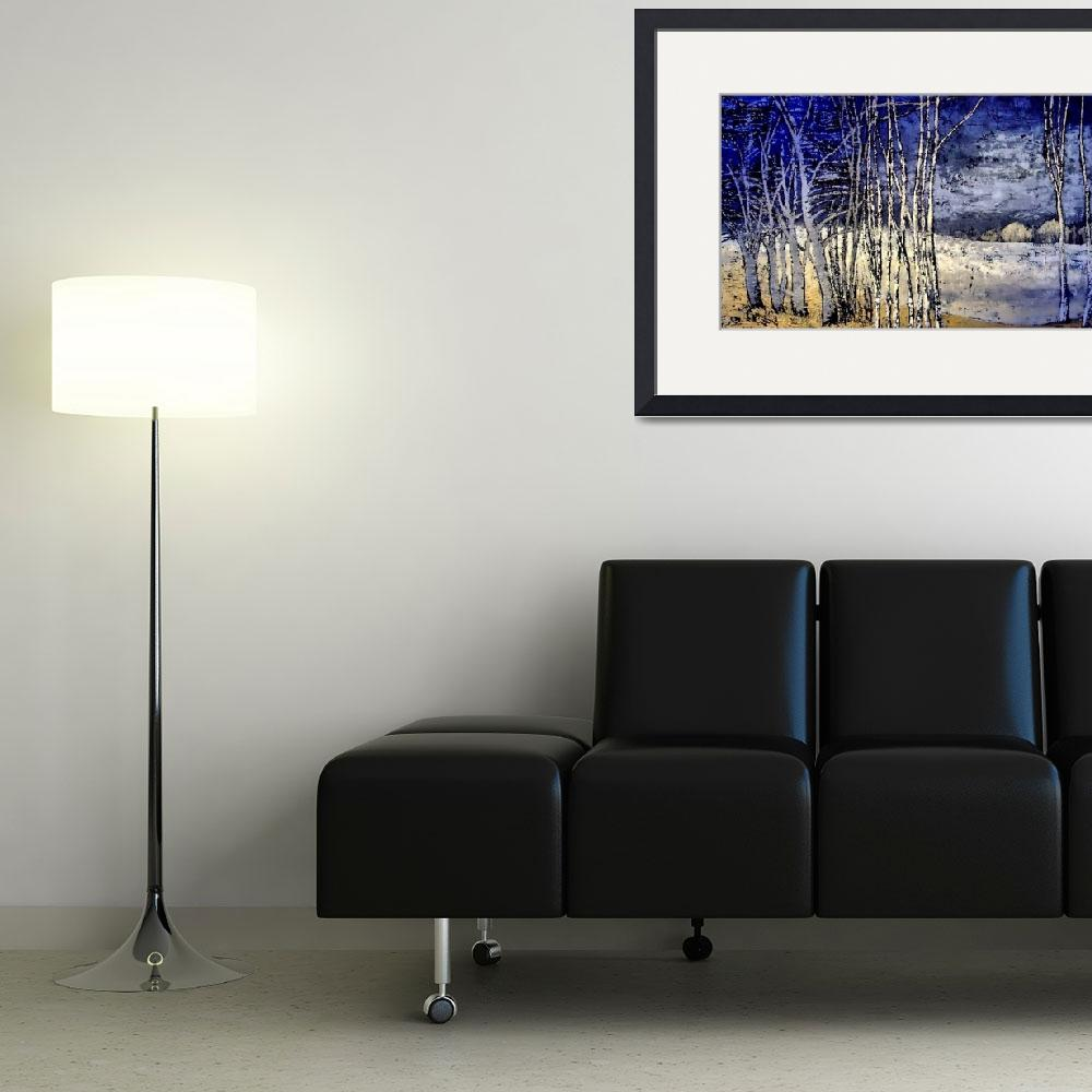 """""""Winter Trees&quot  (2008) by pistach"""