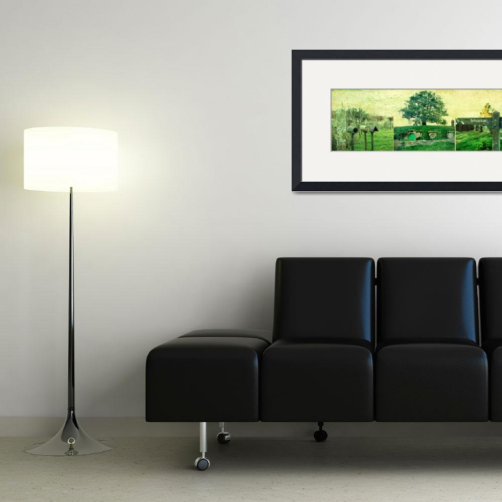 """""""Hobbiton Triptych""""  (2011) by linde58"""