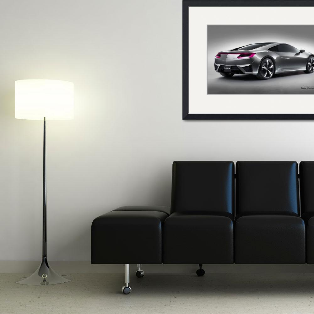 """""""Acura NSX&quot  (2012) by nicoindo"""