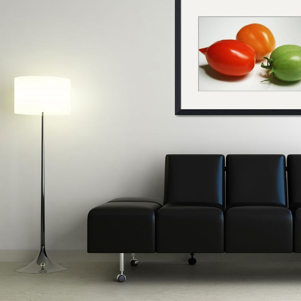 """""""Tomatoes in 3 Colors&quot  (2008) by coreyharmon"""