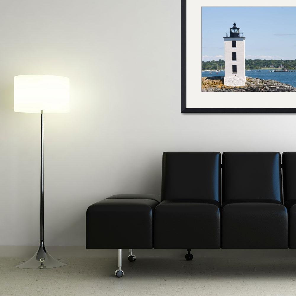 """Dutch Island Lighthouse&quot  (2012) by ValeriesGallery"