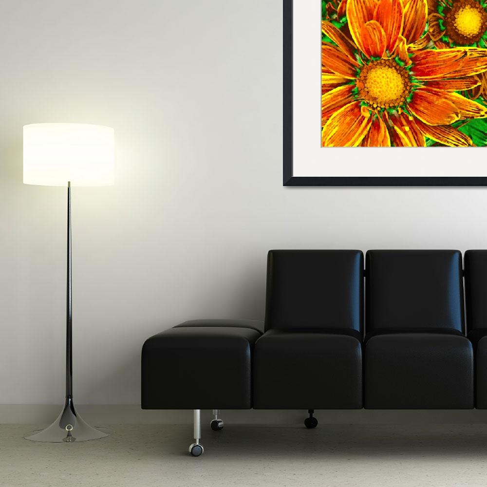 """""""Pop Daisies 8&quot  (2012) by AmyVangsgard"""