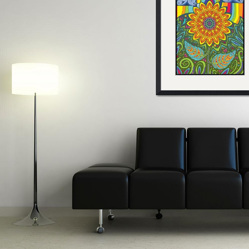 """""""Ray Of Sunflower""""  (2015) by sg-designs"""