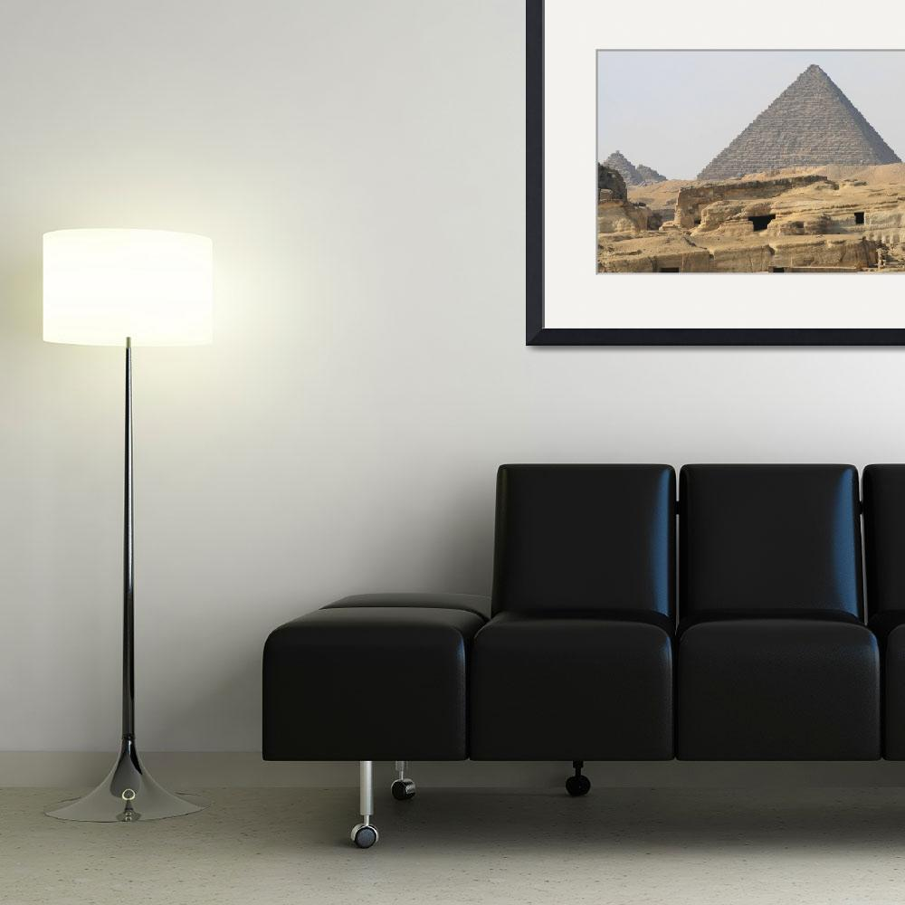 """Pyramids at Giza 56&quot  by rhallam"