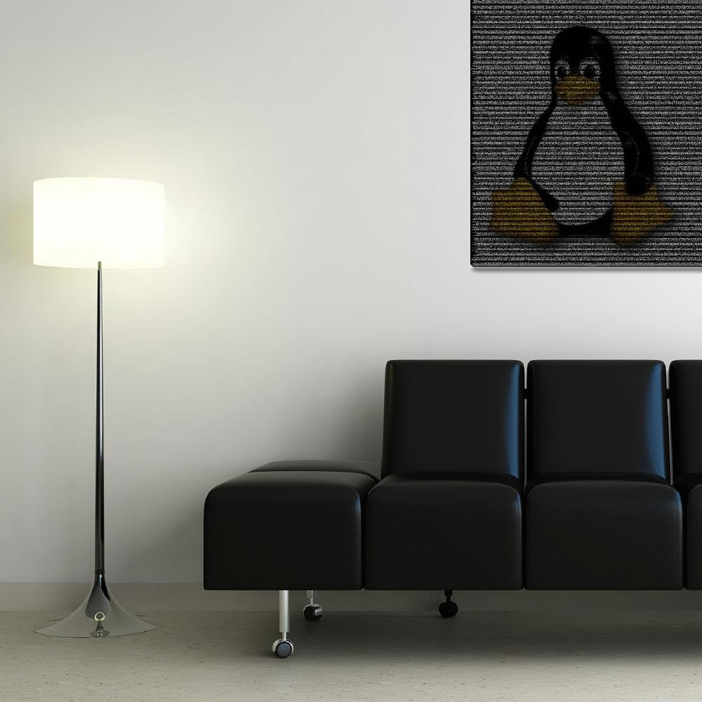 """""""Linux Poster from Source Code""""  (2010) by 0xfe"""