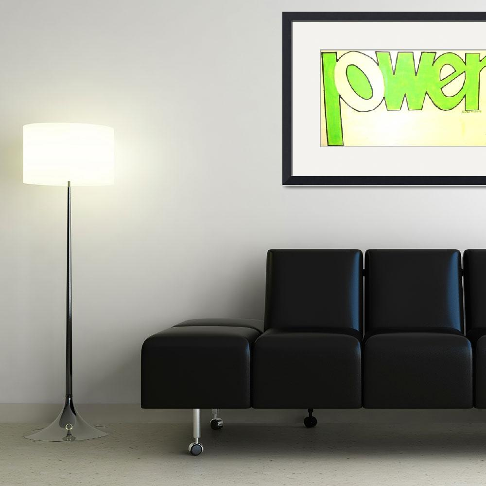 """""""green pwer&quot  (2006) by malone"""