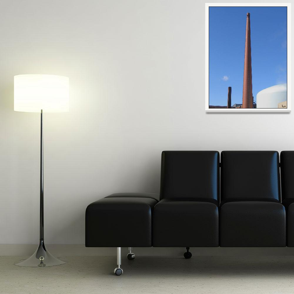 """""""Industrial Smokestack Architecture""""  (2011) by CuriousEye"""