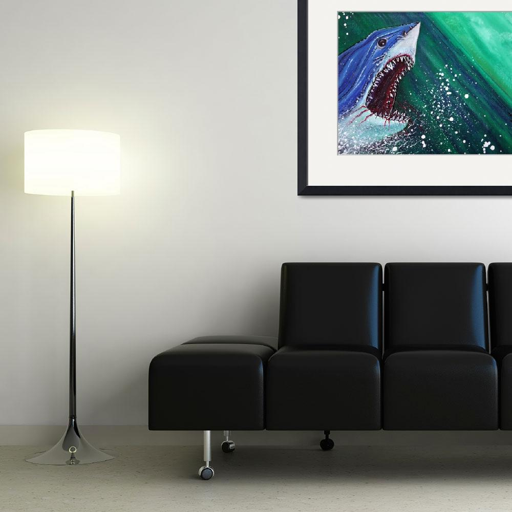 """""""Great White Gauntlet&quot  (2014) by ArtPrints"""