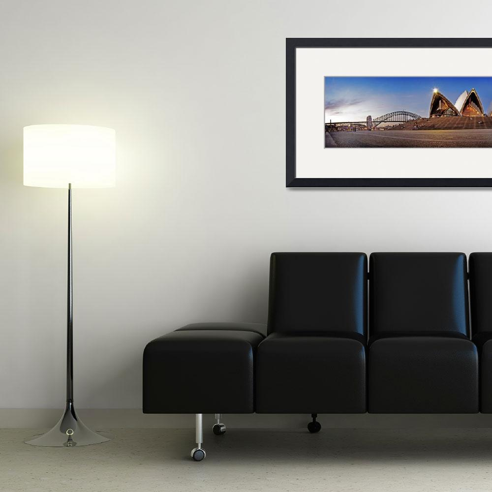 """""""Sydney Panorama&quot  by nathant"""